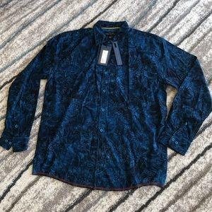 NWT Pete Huntington Montrosse shirt, L